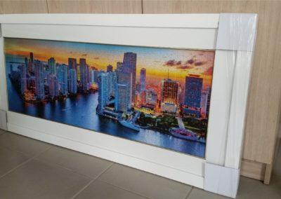 Miami - White Frame
